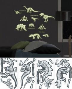 dinosaurs-glow-wall-decal-sticker-applique