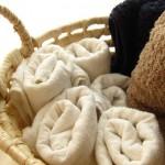 【うわ、おっしゃれ!】訪問者も感心のタオルの収納方法