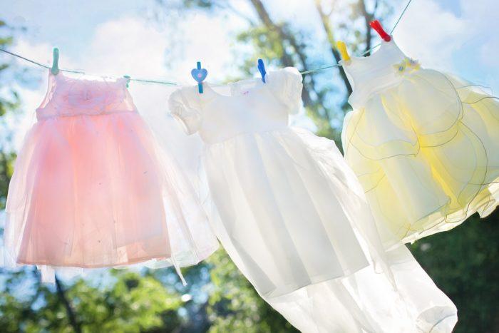 洗濯物が乾く