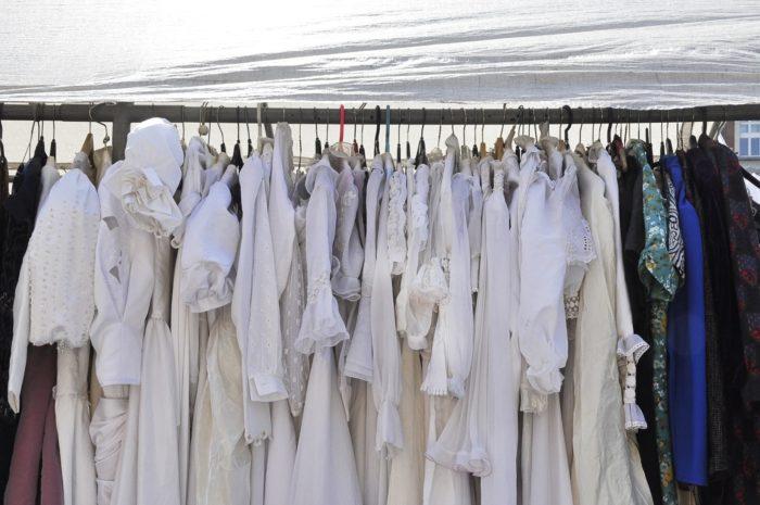 風通しの悪い洗濯物