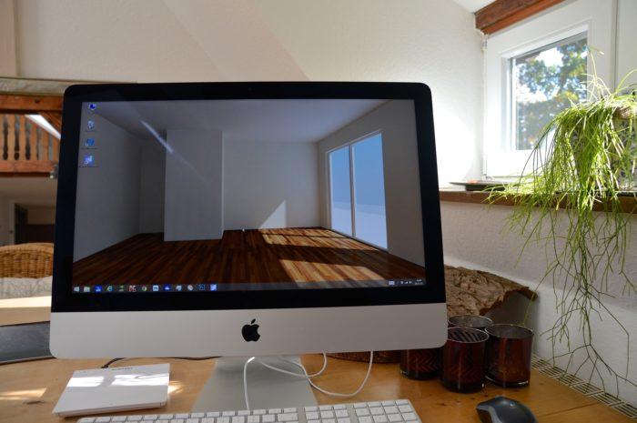パソコンでインテリア勉強